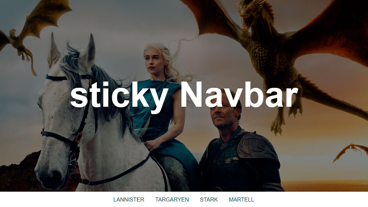 Sticky-navbar-usando-Html-Css-y-JavaScript