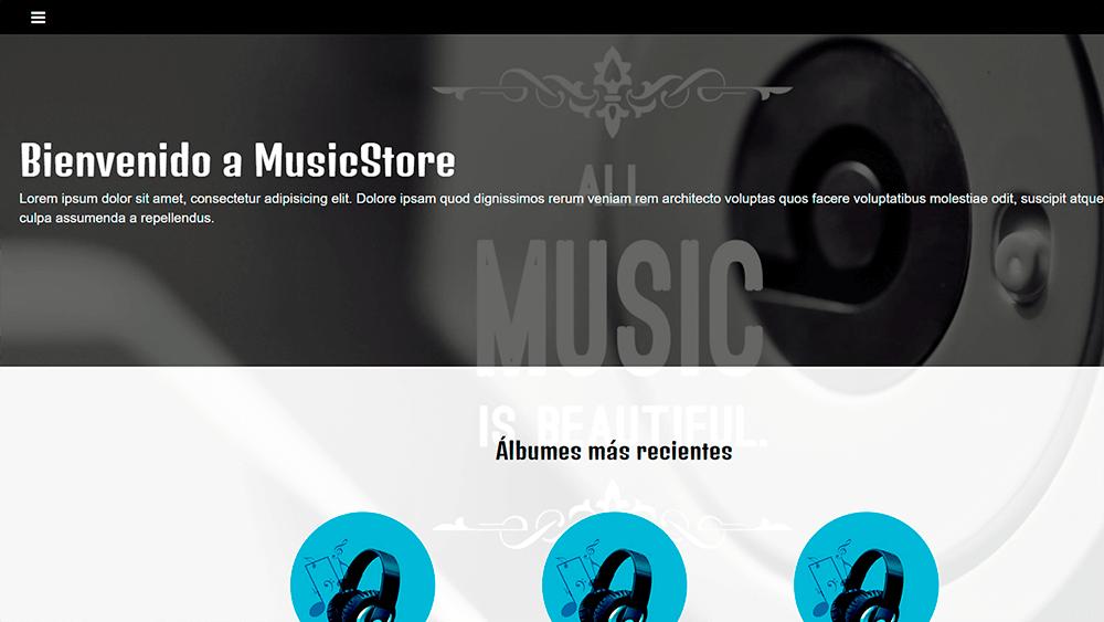 Tienda en linea de música